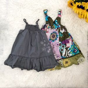 🌻 Bundle of 2 Baby Girl Floral Summer Dress 🌻